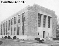 Cecil County Circuit Courthouse circa 1940.
